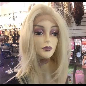 Wig 6X6 Blonde Swisslace Lacefront Layers